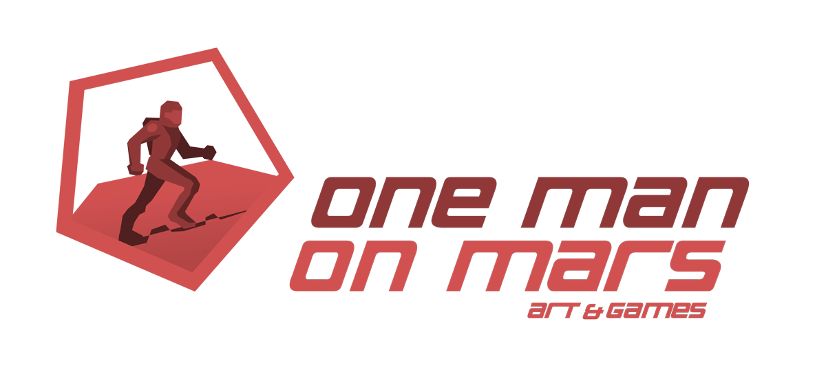 onemanonmars.com